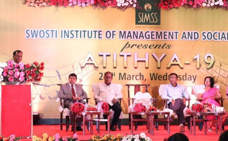 shri jk mohanty speaking at simss annual function